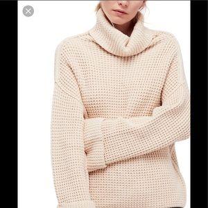 Free people park city turtle neck sweater